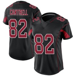 Nike Dylan Cantrell Arizona Cardinals Women's Limited Black Color Rush Jersey
